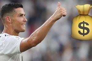 Lộ mức lương siêu khủng của C.Ronaldo tại Juventus!