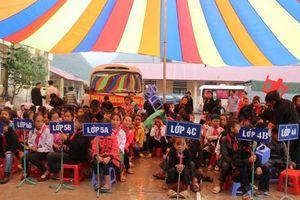 Học sinh vùng lũ quét Hà Giang trong Ngày khai giảng