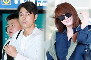 'Chị đại' Kim Hye Soo bất ngờ lộ diện, đụng mặt 'tài tử' Jung Woo Sung tại sân bay hôm nay (05/09)