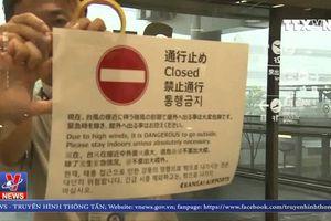 Nhật Bản triển khai nỗ lực ứng phó bão Jebi