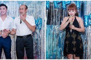 Lê Giang - Duy Phương bất ngờ hội ngộ tại sinh nhật con trai sau scandal bạo hành