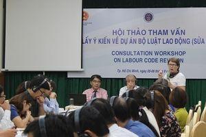 Lấy ý kiến về dự án Bộ luật Lao động tại TP.HCM