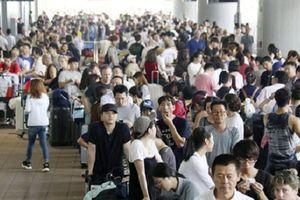 Nhiều chuyến bay từ Việt Nam đến Nhật tiếp tục bị hủy do bão Jebi