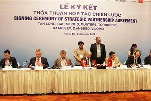 Tập đoàn Tân Long bắt tay 6 công ty Đan Mạch làm nông nghiệp công nghệ cao