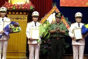 Công bố quyết định sáp nhập Cảnh sát PCCC về Công an Hải Phòng