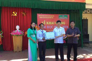 Xã miền núi Thanh Hóa nỗ lực khắc phục hậu quả mưa lũ đón khai giảng năm học mới