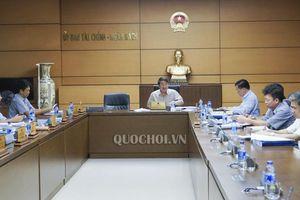 Thường trực Ủy ban tài chính-ngân sách thẩm tra dự án Luật Quản lý thuế (sửa đổi)