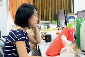 Hình ảnh các nữ nhà báo chuyên mảng quốc tế của VOV