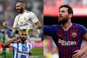 Vua phá lưới La Liga 2018/2019 sau vòng 3: 'Mèo lười' sánh ngang Messi