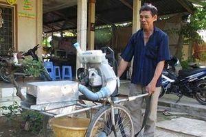 Hết lo thu hoạch lúa đổ nhờ sáng chế của lão nông Tiền Giang