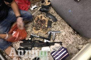 Công an Hà Nội bóc gỡ đường dây mua bán ma túy liên tỉnh, thu giữ nhiều súng đạn