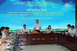 'Tĩnh tâm' đưa hàng Việt tới tay người tiêu dùng Thủ đô