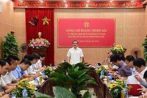 Hà Nội: Đẩy mạnh công tác cải cách thủ tục hành chính