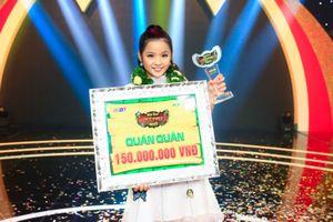 Cô bé Ái My đoạt quán quân 'Tiếu Lâm Tứ Trụ Nhí' 2018