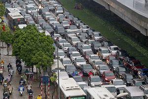 Hà Nội: Phân luồng giao thông phục vụ WEF ASEAN 2018