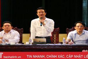 Nghi Xuân bàn giải pháp đẩy nhanh tiến độ về đích huyện nông thôn mới