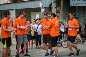 Tập thể chạy tiếp sức có quãng đường dài nhất Việt Nam