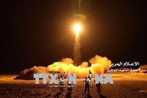Saudi Arabia đánh chặn tên lửa từ lực lượng Houthi