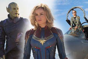 Cực hot: Marvel tung ảnh bìa của Captain Marvel - Nữ siêu anh hùng mạnh nhất từ trước tới nay