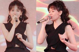 Đi hát mừng khai giảng thôi mà Hari Won xuất hiện như minh tinh Hàn Quốc
