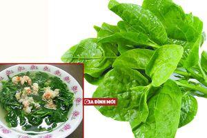Canh rau mồng tơi xanh ngon lại không nhớt nhờ áp dụng mẹo nhỏ siêu hữu ích này