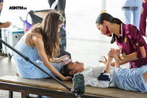 Thí sinh Việt Nam bất ngờ ngất xỉu trong tập 3 'Asia's Next Top Model 2018'