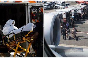 Điều chưa từng có trong lịch sử hàng không Mỹ, hàng trăm hành khách vừa đáp xuống sân bay lập tức phải đến bệnh viện