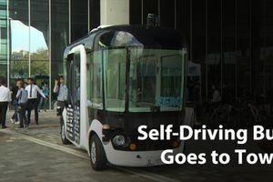Hàn Quốc: Chạy thử thành công xe buýt tự lái