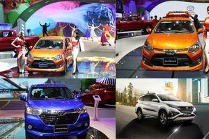 Toyota Việt Nam sắp tung bộ ba 'át chủ bài' xe giá rẻ Toyota Wigo, Rush và Avanza