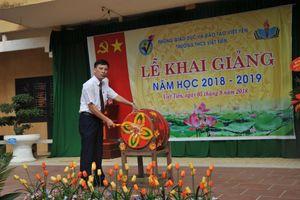 Trường THCS Việt Tiến khai giảng năm học 2018-2019