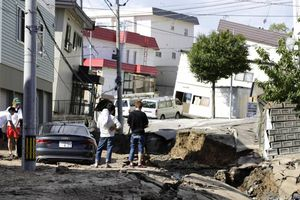 Nhật Bản: Động đất mạnh rung chuyển đảo Hokkaido