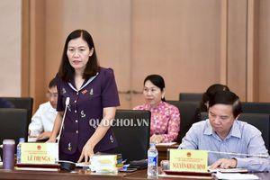 Hội nghị đại biểu Quốc hội chuyên trách thảo luật 02 Dự án Luật trình Quốc hội tại kỳ họp thứ 6