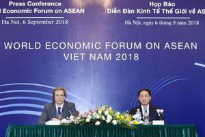 5 nội dung chính của Diễn đàn Kinh tế Thế giới về ASEAN 2018