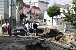 Số liệu thiệt hại mới nhất về động đất ở Hokkaido, Nhật Bản