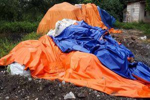 Doanh nghiệp 'làm xiếc' với hàng trăm tấn chất thải nguy hại
