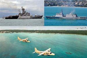 Tàu hải quân và máy bay chiến đấu Ấn Độ đến Sri Lanka tham gia tập trận Slinex-2018