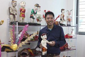 Nghệ sỹ múa rối Phan Thanh Liêm lại đưa Tễu đi du hí