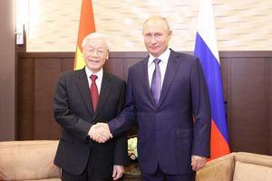 Việt Nam - Liên bang Nga: Đưa quan hệ Đối tác chiến lược toàn diện đi vào chiều sâu