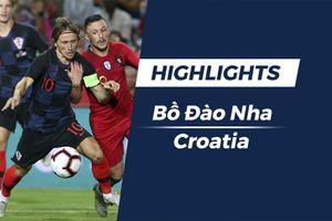Highlights Bồ Đào Nha vs Croatia: Bất phân thắng bại