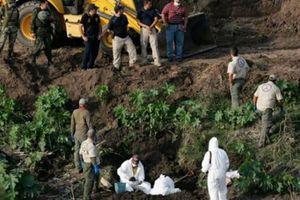 Phát hiện 32 mồ tập thể chôn 166 người ở Mexico