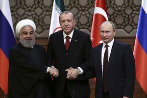 Lãnh đạo Nga, Thổ Nhĩ Kỳ, Iran gặp mặt để định đoạt số phận Idlib