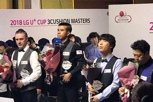 Trần Quyết Chiến vô địch LG U và Cup Kiện tướng carom 3 băng