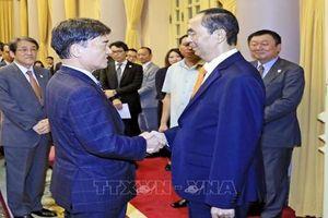 Chủ tịch nước tiếp Cố vấn đặc biệt Tập đoàn Mainichi (Nhật Bản)