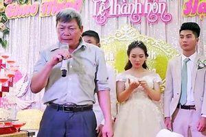 Hài hước bài phát biểu của ông bác say mèm trong đám cưới