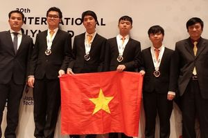 Học sinh Việt Nam giành huy chương vàng Olympic tin học quốc tế