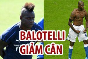 Lạ chưa, Mancini buộc Balotelli phải giảm...8-9 gram cân nặng