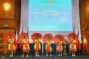 Long trọng kỷ niệm 73 năm Quốc khánh Việt Nam tại Czech