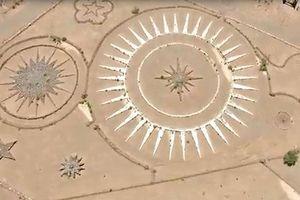 Xây bãi đỗ UFO khổng lồ ngay giữa sa mạc Argentina