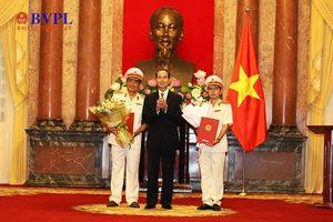 Chủ tịch nước trao quyết định bổ nhiệm 02 Phó Viện trưởng VKSND tối cao