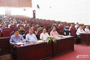 Thành phố Vinh tập trung chỉ đạo xây dựng khu vực phòng thủ vững mạnh